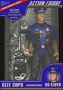 CLIT COPS Action Figure - DS Floyd